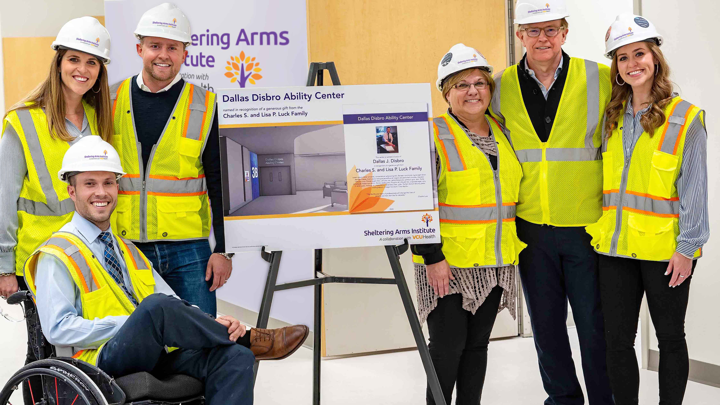 Dallas Disbro Unit at Sheltering Arms Institute Opening